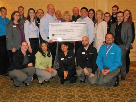 Second Harvest Food Bank of Metrolina receives $11,430 from WCF.