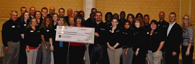 Second Harvest Food Bank of Metrolina Receives $1,800 Donation