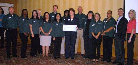 Southwest VA Second Harvest Food Bank Receives $8,250 Donation