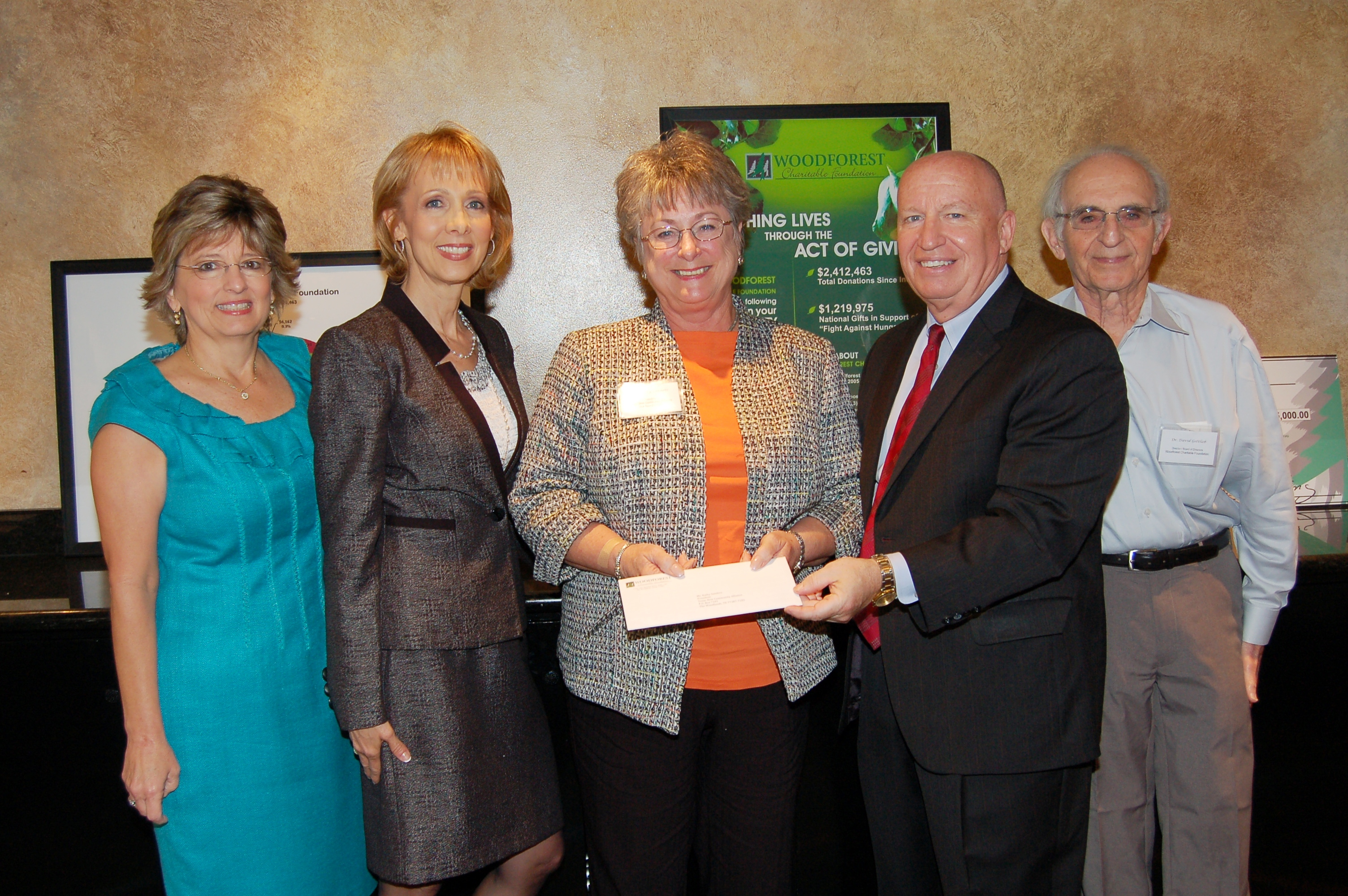 Texas New Community Alliance – New Danville receives $7,000 donation from WCF.
