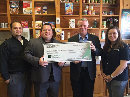 Tri-State Food Bank recently received $1,080 from WCF.