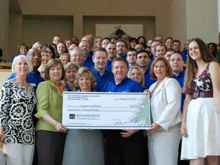 The Foodbank of Southeastern Virginia Receives $4,150 Donation