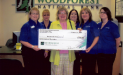 The Beeville Vineyard, Inc. Receives $750 Donation