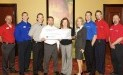 Central Illinois Food Bank receives $1,855 donation from WCF.