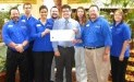 Cleveland Foodbank receives $2,645 donation from Woodforest Charitable Foundation.