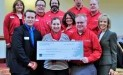 Cleveland Food Bank receieves $3,025 donation from Woodforest Charitable Foundation.