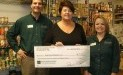 Daily Bread Ministries-Greer Soup Kitchen receives $1,715 donation from WCF.