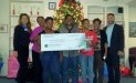 Family Promise of Fort Bend recently received a donation from WCF.