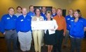 Gleaners Food Bank of Indiana receives $5,425 donation from Woodforest Charitable Foundation.