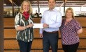 Inspiration Ranch recently received a $7,500 donation from WCF.
