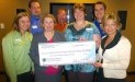 Second Harvest Food Bank of East Central Indiana receives $2,170 donation from WCF.