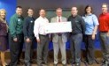 Second Harvest Food Bank of East Central Indiana receives $1,670 donation from WCF.