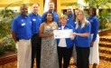 The Foodbank, Inc. Receives $3,740 Donation