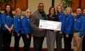 Toledo Northwestern Food Bank receives $4,535 donation from Woodforest Charitable Foundation.
