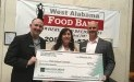 West Alabama Food Bank recently received a $670 donation from WCF